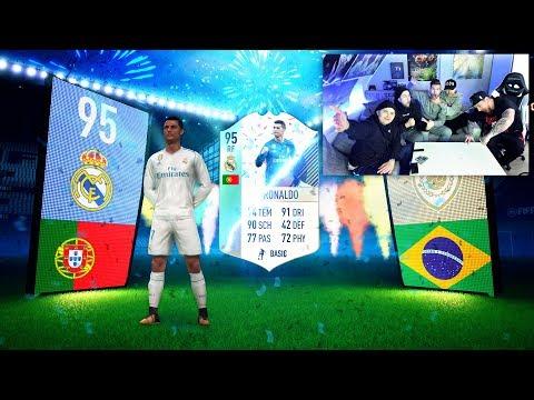 FIFA 18: XXL FUT BIRTHDAY Pack Opening MIT DER CREW 😱