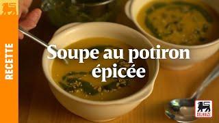 Soupe au potiron épicée