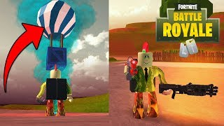 MOST V BUCKS IN THE GAME! (Roblox Fortnite Tycoon)