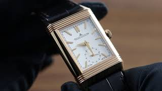 Jaeger-LeCoultre Reverso Tribute Duoface 3902420 Showcase Review