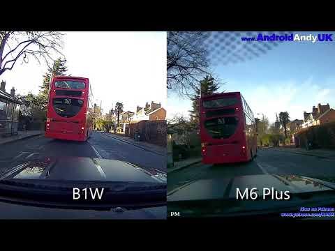Blueskysea B1w Vs DDPai M6 Plus Dashcam Comparison