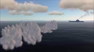 DCS Viggen RB-04 vs Carrier test