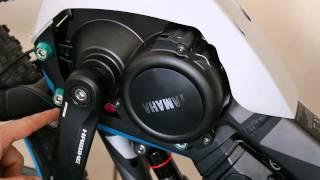 Yamaha E-Bike мотор відкриття 2015 2016 2017