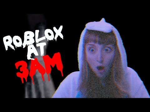 DO NOT PLAY ROBLOX AT 3AM! OMG SO SCARY!!!