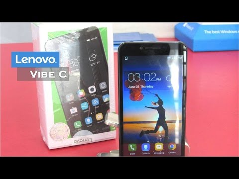 Lenovo Vibe C (A2020) | Unboxing | Review | Camera | Gaming | Pros and Cons