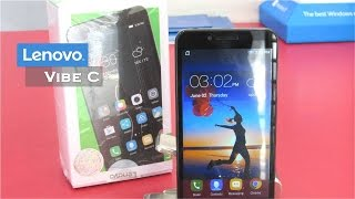 Lenovo Vibe C (A2020)   Unboxing   Review   Camera   Gaming   Pros and Cons