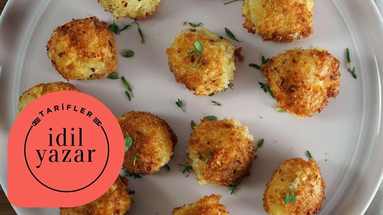 Ispanaklı Patates Köftesi Videosu