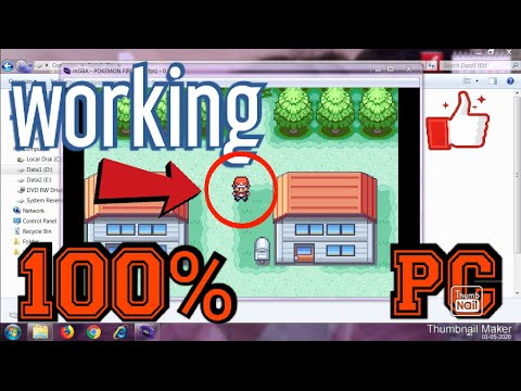 How To Download Pokemon Fire Red+GBA In PC Free