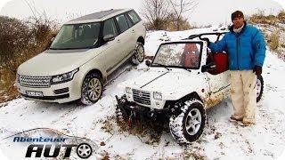 Quadix vs. Range Rover im Steck-Check | Abenteuer Auto Classics