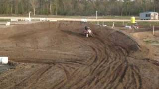 Rocketboy Jay Cramer: Age 5 - Practicing Motocross Racing on his Cobra