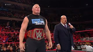 WWE Wal3ooha: رسالة قوية من بروك ليسنر إلى برون سترومان