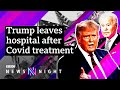 US Election 2020: How will President Trump's hospitalisation affect the race? - BBC Newsnight