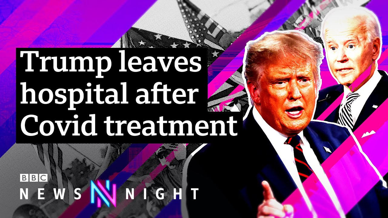Download US Election 2020: How will President Trump's hospitalisation affect the race? - BBC Newsnight