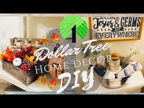DOLLAR TREE DIY | FALL | BATHROOM | HOME DECOR