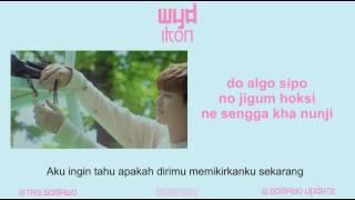 Easy Lyric IKON - WYD By GOMAWO [Indo Sub]
