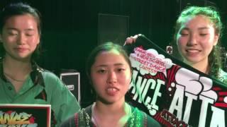 Dub Luv_DANCE ATTACK_東日本大会高校生の部コメント Resimi
