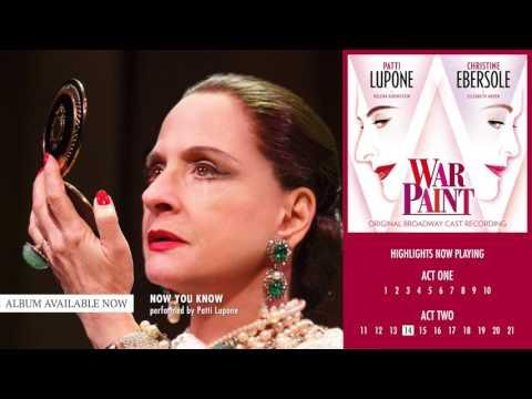 War Paint Original Broadway Cast Album Sampler