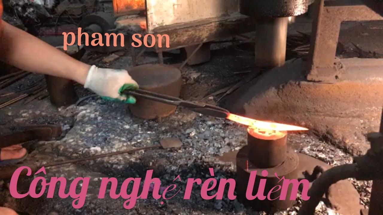 Công nghệ rèn liềm(Sickle forging technology)
