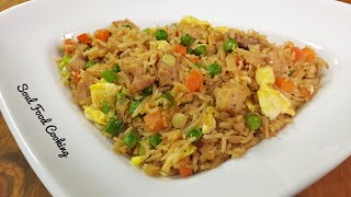 Chicken Fried Rice Recipe | How to Make Restaurant Quality Chicken Fried Rice