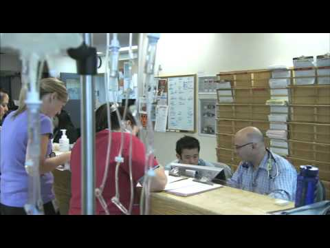 Medical Students Follow a Physician for a Day at Credit Valley Hospital