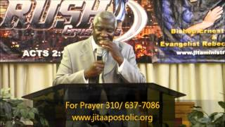 Bishop Ronnie Fasion at Jesus Is The Answer Church