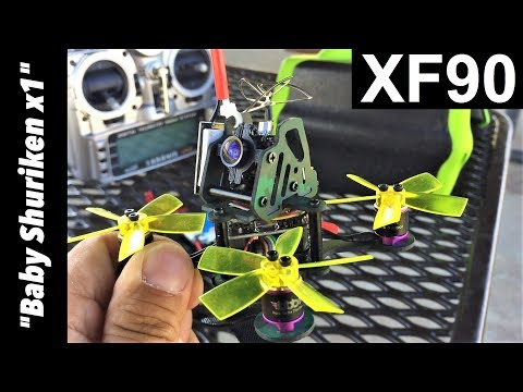 "XF90 90mm Micro Brushless FPV Racing Drone ""Baby Shuriken X1"""