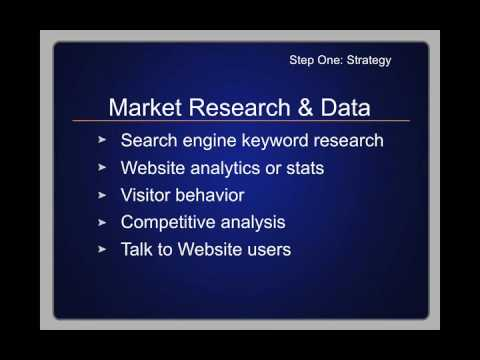 Video 10 - How to Develop a Web Marketing Strategy