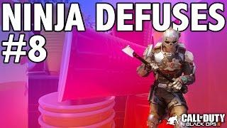 BO3: NINJA DEFUSE MONTAGE! #8 (Ninja Defuses, Funny Moments & Trolling)