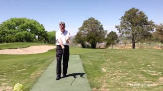 Golf Instruction - The Elbows Point at Hips and Stay Close Together