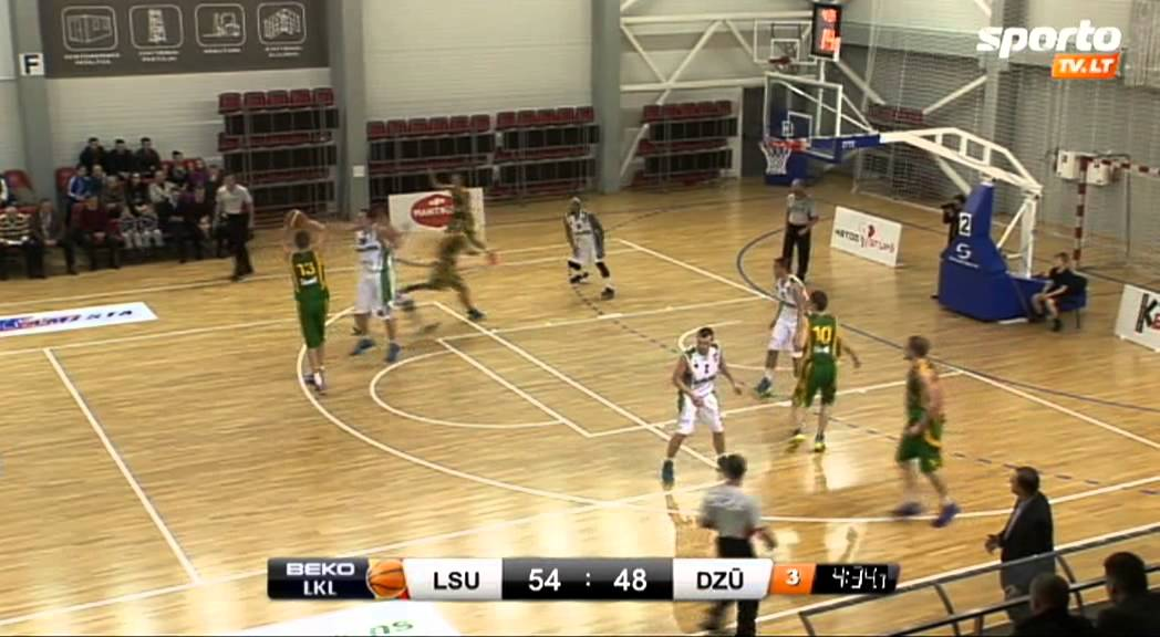"""SportoTV.lt: LKL: Kauno raj. """"LSU-Atletas"""