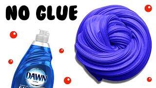 NO GLUE 1 INGREDIENT SLIME! TESTING DISH SOAP SLIME RECIPES!