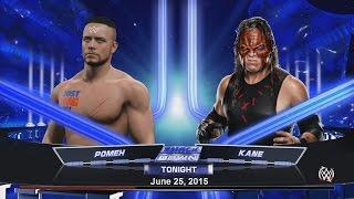 WWE 2K15. POMEH vs KANE