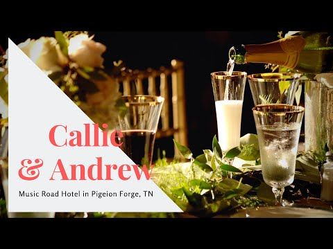 Fairy Wedding of CALLIE & ANDREW in the Music Road Hotel in Pigeon Forge, TN
