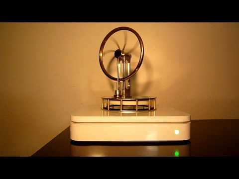 AirPort Extreme Waste Heat Powered Stirling Engine