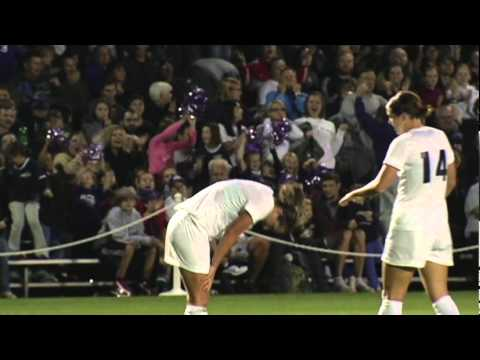 UP Women's Soccer Highlights vs. Oregon (10/1/2010)