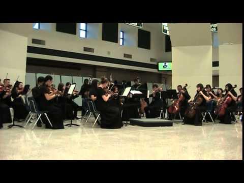 Collins Hill High School performs Eine Kleine Nachtmusik, Allegro