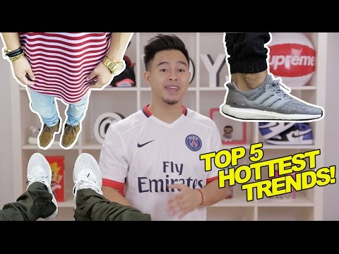 TOP 5 FASHION TRENDS FOR 2015 & 2016