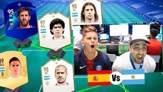 LA MEJOR ARGENTINA Vs LA MEJOR ESPAÑA de FIFA 19