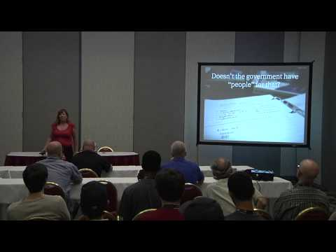 2013 SouthEast LinuxFest - Deb Nicholson - Software Patents: Who's Behind The Curtain?