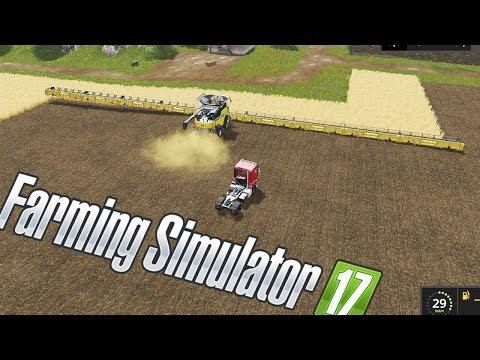 BARRA DE CORTE GIGANTE MUITO SHOW! | FARMING SIMULATOR 17 [PT-BR]