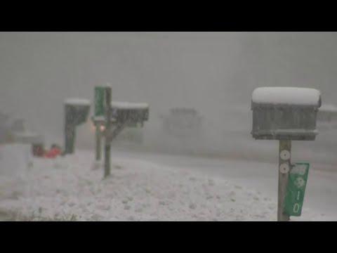 Season's First Major Snowfall Hits Southeast Michigan