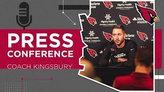 Kingsbury on David Johnson Injury, Avoiding Slow Starts | Arizona Cardinals