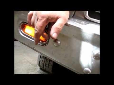 Wiring turn signal, Rambler American - YouTube