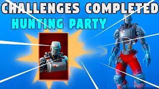 fortnite hunting party skin (A.I.M.) - FREE SKIN