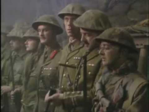 Over The Top Blackadder Goes Fourth Final Scene