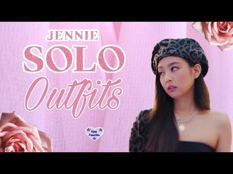 JENNIE - 'SOLO' M/V OUTFITS