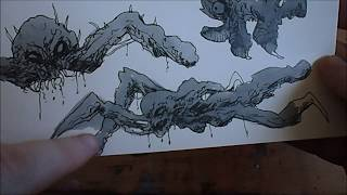 How To Draw Monster Concepts Fast