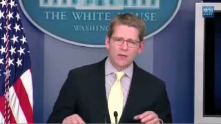 Jay Carney Snaps at NPR Reporter Over Budget Question