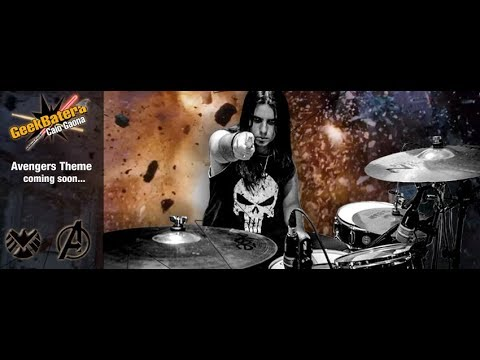 #geekbatera The Avengers Theme drum remix by Caio Gaona