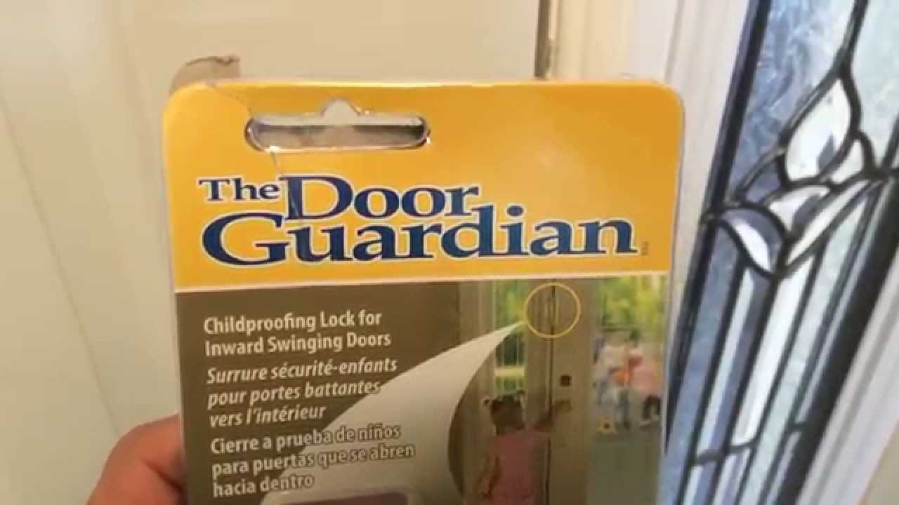 The Door Gaurdian From Home Depot   Child Safety